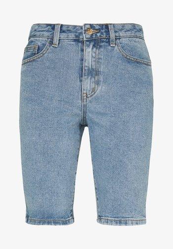 OBJMARINA  - Denim shorts - light blue denim