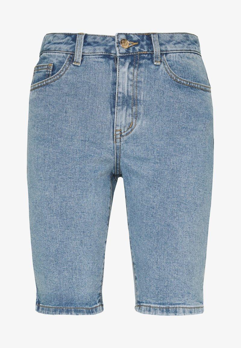 Object - OBJMARINA  - Denim shorts - light blue denim