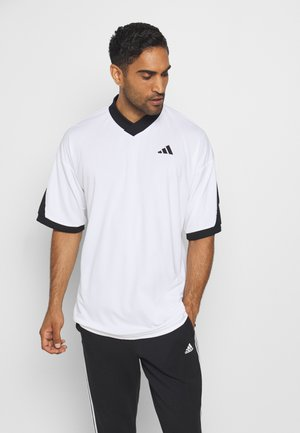 URBAN FOOT - Print T-shirt - white/black