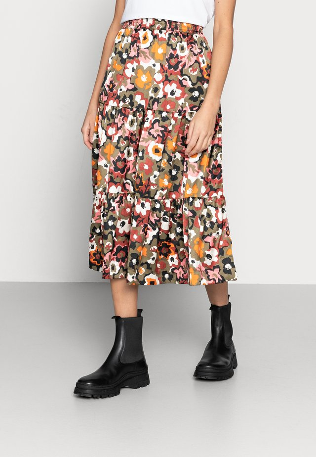 DAY DOVE - A-line skirt - forest