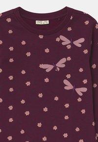 OVS - SET - Sweatshirt - grape wine - 3