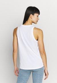 Nike Performance - DRY TANK LEOPARD - Treningsskjorter - white - 2