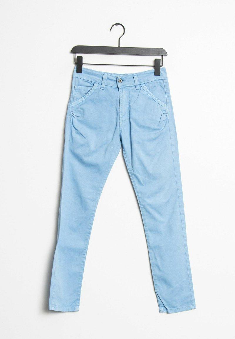 PLEASE - Straight leg jeans - blue