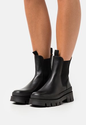 LAURA - Platform ankle boots - black