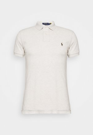 SLIM FIT MODEL - Poloskjorter - american heather/
