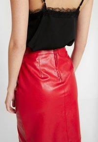 Glamorous - SKIRT - Pencil skirt - red - 3