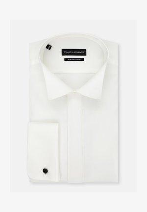 SLIM - Koszula biznesowa - ecru