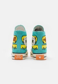 Converse - CHUCK TAYLOR ALL STAR 70 - Høye joggesko - turquoise/yellow - 2
