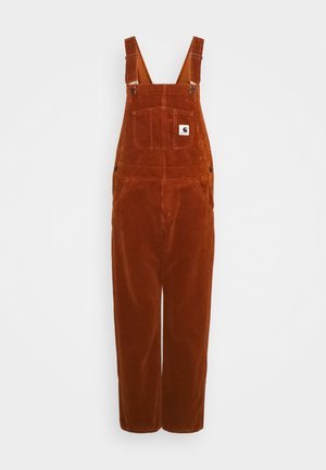 OVERALL STRAIGHT - Dungarees - brandy
