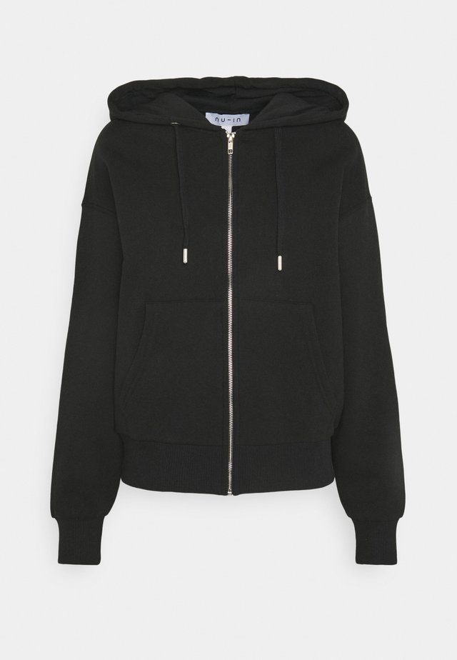 BASIC ZIP UP HOODIE - Sweatjakke /Træningstrøjer - black