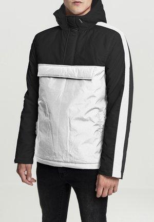 HOODED JACKET - Light jacket - wht/blk/blk