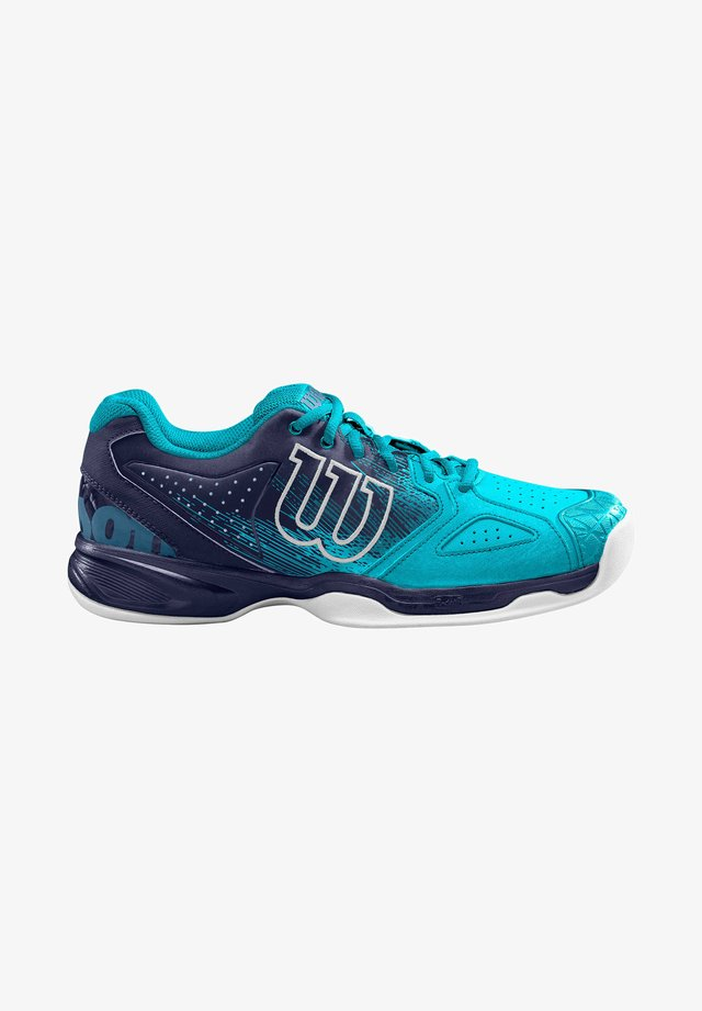 Carpet court tennis shoes - blau