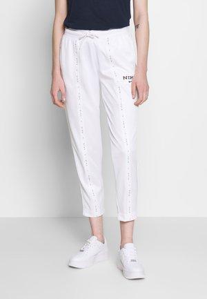 PANT - Tracksuit bottoms - white/black