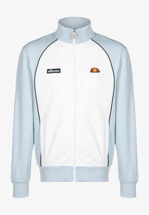 Zip-up sweatshirt - light blue
