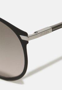 Prada - Sunglasses - matte black/gunmetal - 2