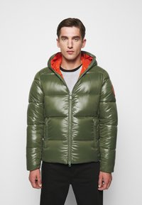 Save the duck - LUCKY - Winter jacket - thyme green - 0