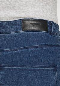 Vero Moda Petite - VMSOPHIA BIKER - Skinny džíny - dark blue denim - 3
