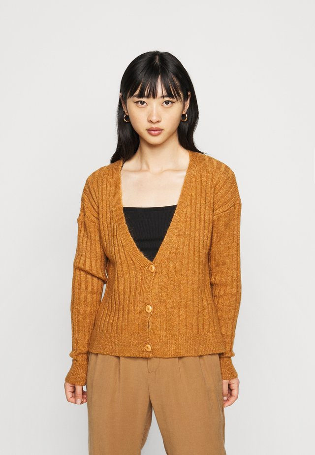 NMLUNA  - Cardigan - brown sugar