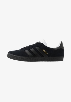 GAZELLE - Trainers - core black/gold metallic