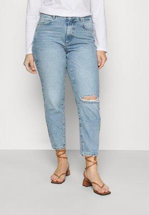 VMNADINE  - Slim fit jeans - light blue denim