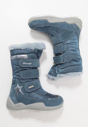 Snowboot/Winterstiefel - azzurro/jeans