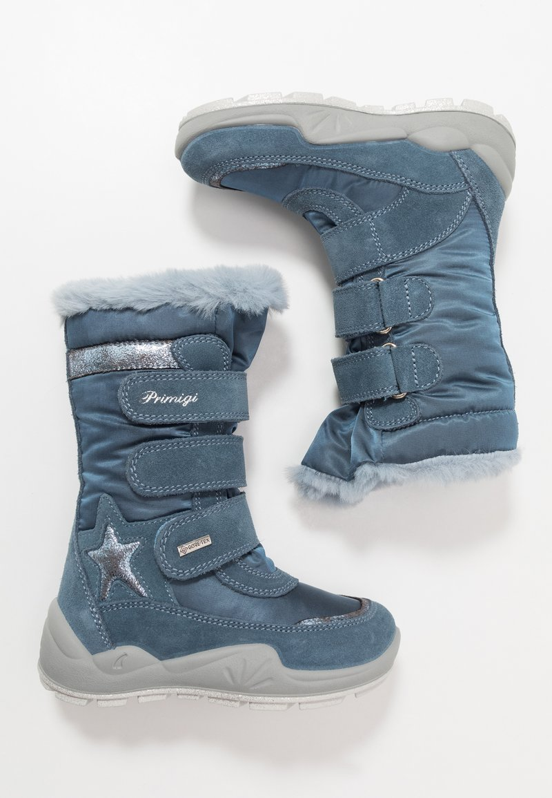 Primigi - Winter boots - azzurro/jeans