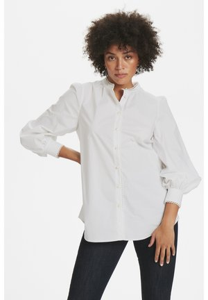 CHILLYKB - Button-down blouse - bright white