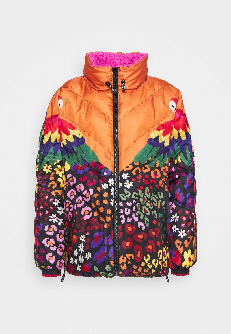 Farm Rio - MIXED MACAW PUFFER - Winter jacket - multi