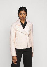 ONLY Petite - ONLASHA BIKER - Summer jacket - pumice stone - 0