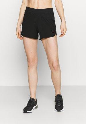 REGULAR STRETCH SHORT - Short de sport - black