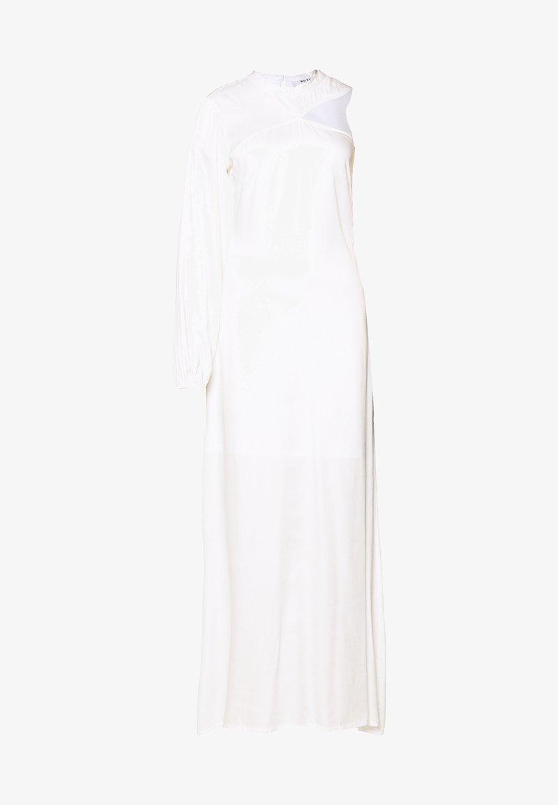 NA-KD - ONE SLEEVE MAXI DRESS - Iltapuku - off white