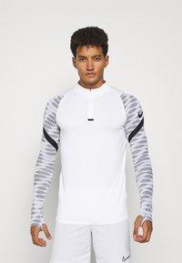 Nike Performance - Sports shirt - white/black/black/black - 0