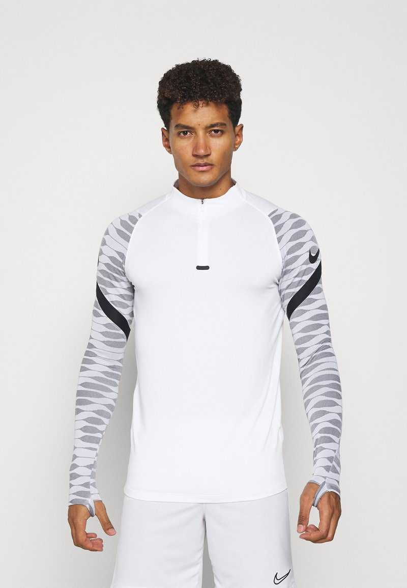 Nike Performance - Sports shirt - white/black/black/black