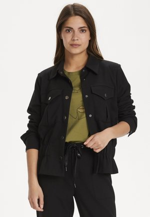 Denim jacket - black deep