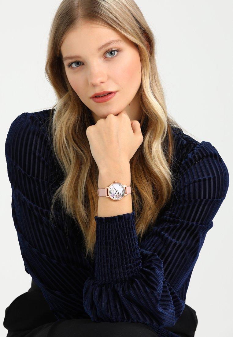 Olivia Burton - ENCHANTED GARDEN - Zegarek - dusty pink