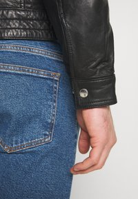 Matinique - MAADRON - Leather jacket - black - 5