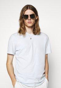 James Perse - CREW NECK - T-shirt basic - grey glacier - 4