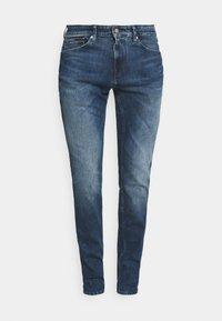 Tommy Jeans - SCANTON SLIM - Džíny Slim Fit - mid blue - 3