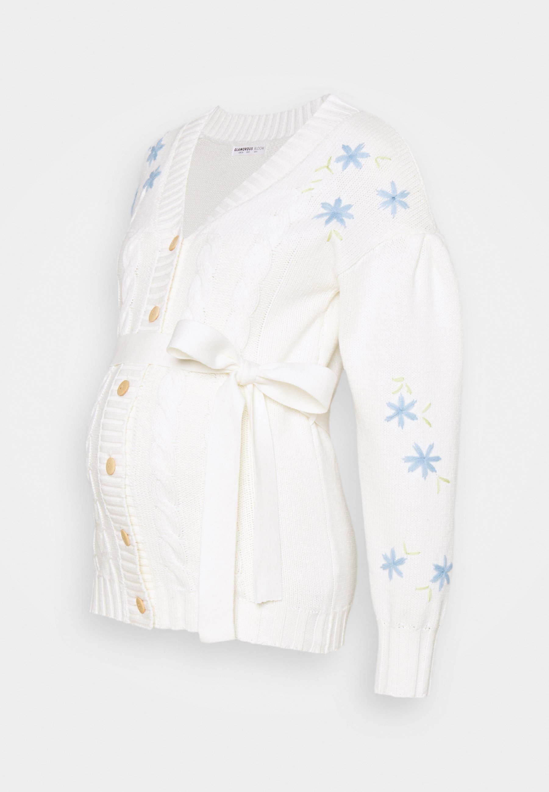 Women EMBROIDERED WITH LONG SLEEVES - Cardigan