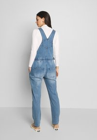 Forever Fit - DUNGAREE - Dungarees - mid blue wash - 2