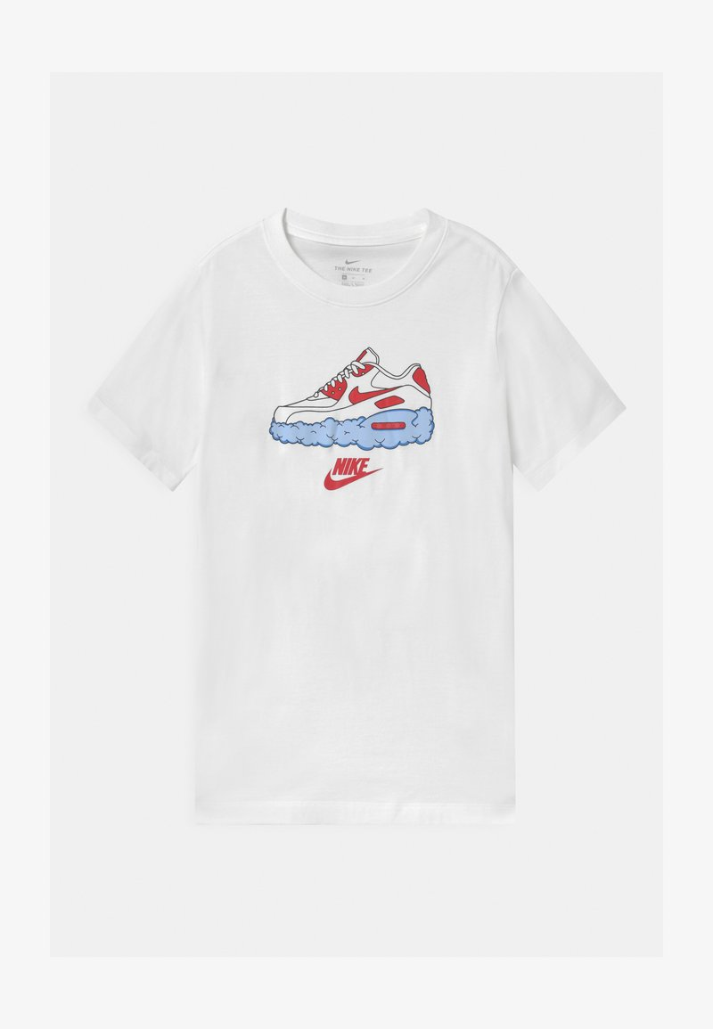Nike Sportswear - CLOUD UNISEX - Print T-shirt - white