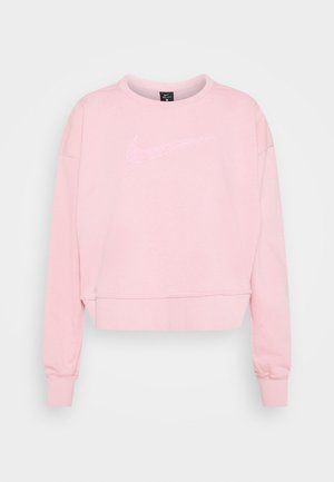 DRY GET FIT CREW - Sweatshirt - pink glaze/light smoke grey