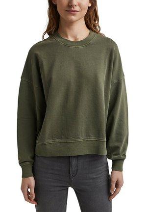 FLOW - Sweatshirt - khaki green