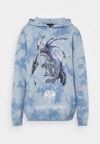 NEW girl ORDER - DRAGON TIE DYE HOODY - Sweatshirt - blue - 0