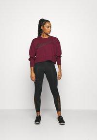Nike Performance - GET FIT - Sweatshirt - dark beetroot/white - 1