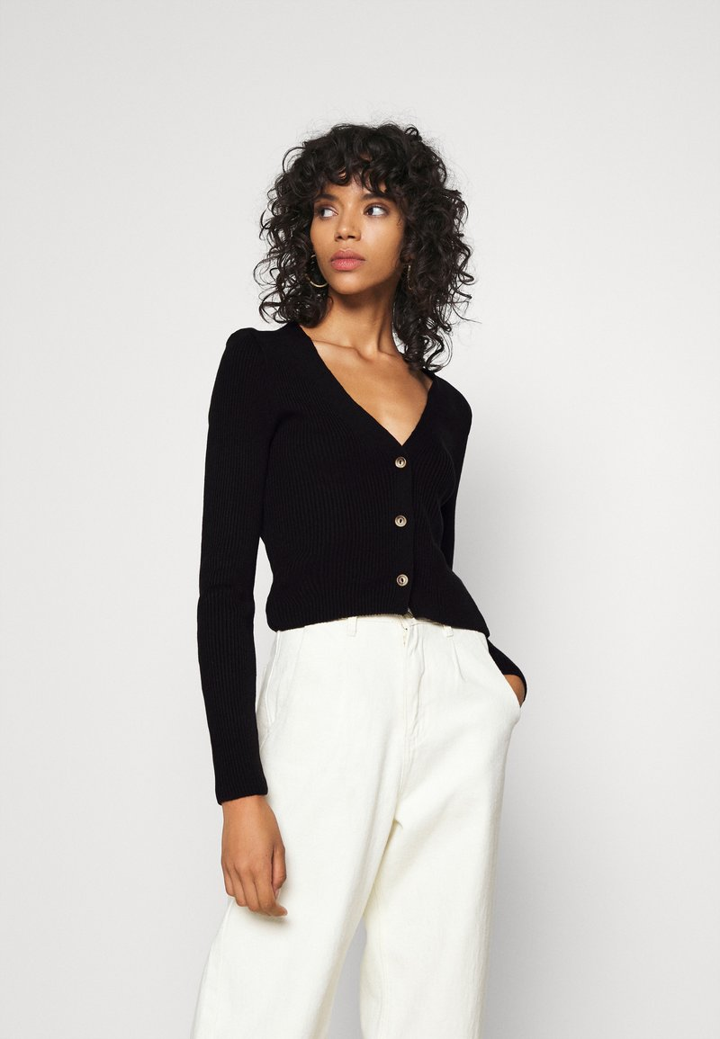 Missguided - Cardigan - black