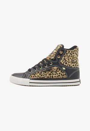 ATOLL - Sneakers hoog - leopard/black