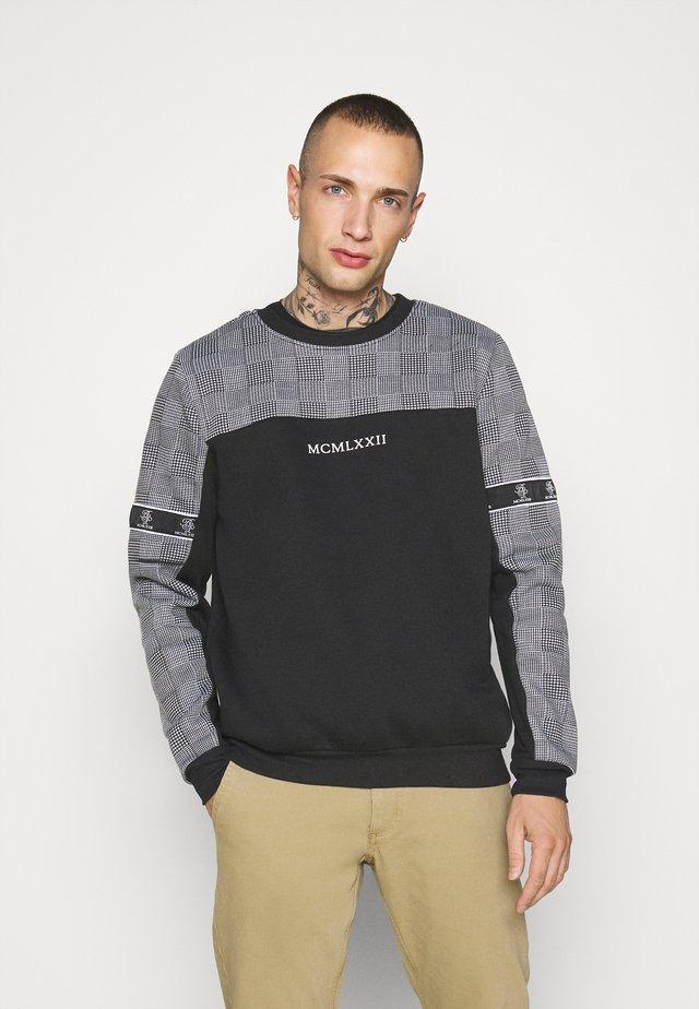 Sweatshirt - jet black/optic white