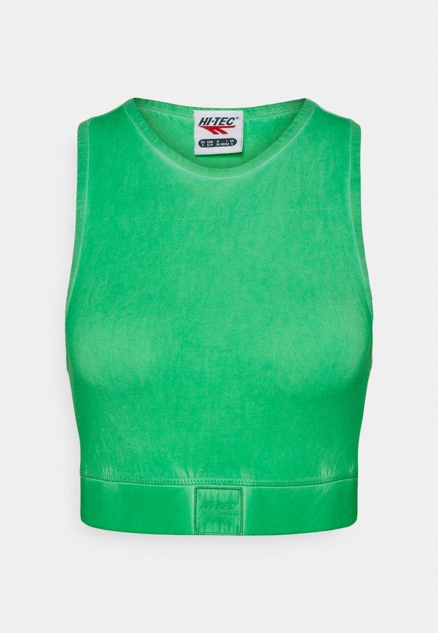 VALENTINA - Sport-bh met light support - jade green