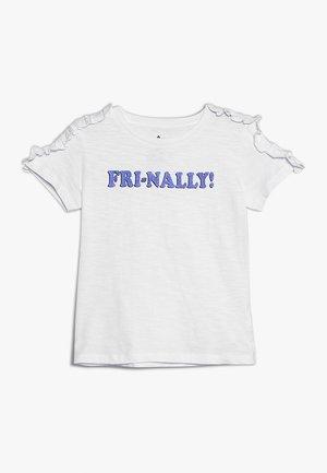 TEEN GIRLS - T-shirt print - optical white